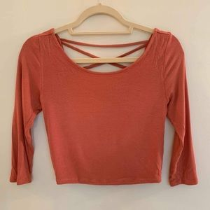 Forever 21 3/4 Sleeve Top